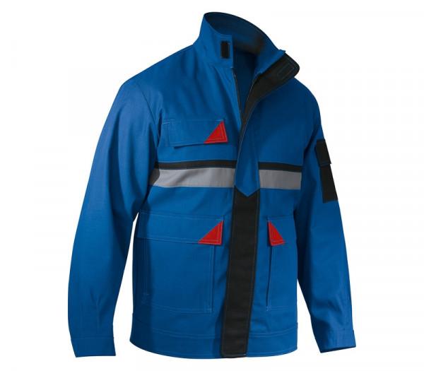 KÜBLER BRAND X PROTECT Jacke kbl.blau/rot, 10545881