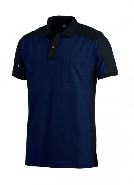 FHB KONRAD Polo-Shirt, marine-schwarz