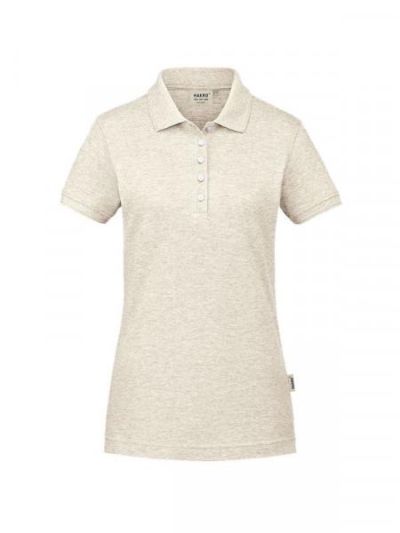 Hakro Damen-Poloshirt GOTS-Organic creme meliert 0231-331