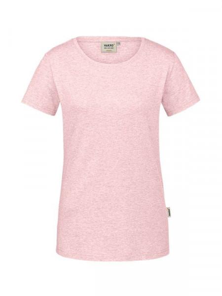 Hakro Damen-T-Shirt GOTS-Organic rosa meliert 0171-327