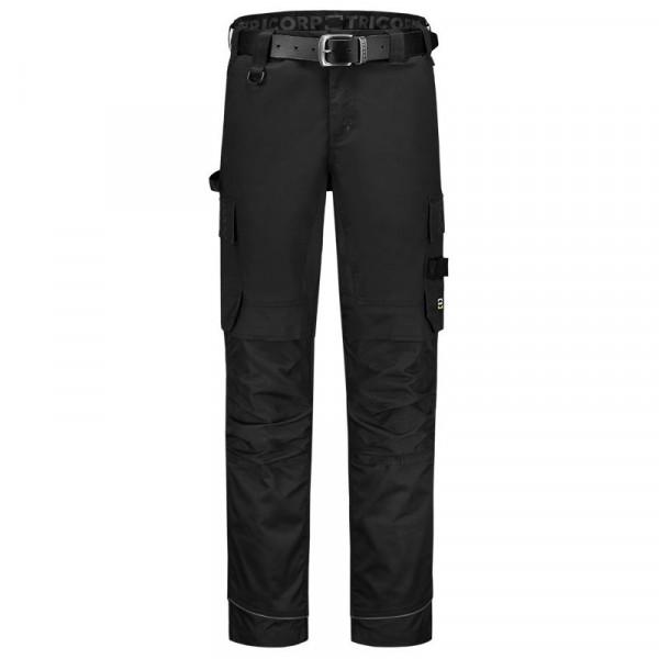 TRICORP, Arbeitshose Twill Cordura Stretch, Black, 502020