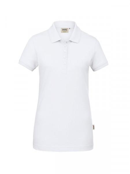 Hakro Damen-Poloshirt GOTS-Organic weiß 0231-001