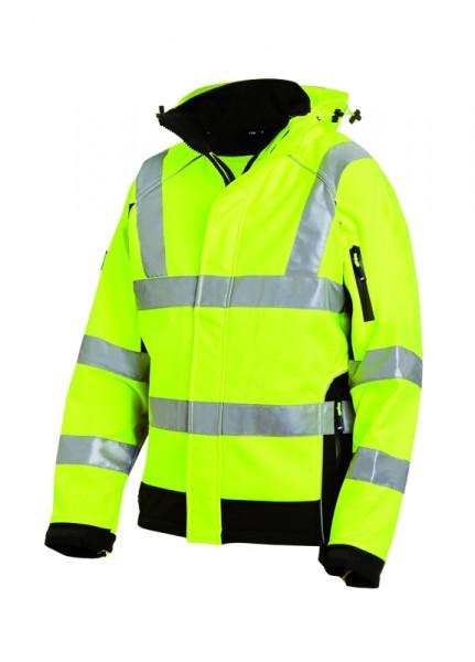 FHB FELIX Warnschutz-Softshell-Jacke EN 20471-3