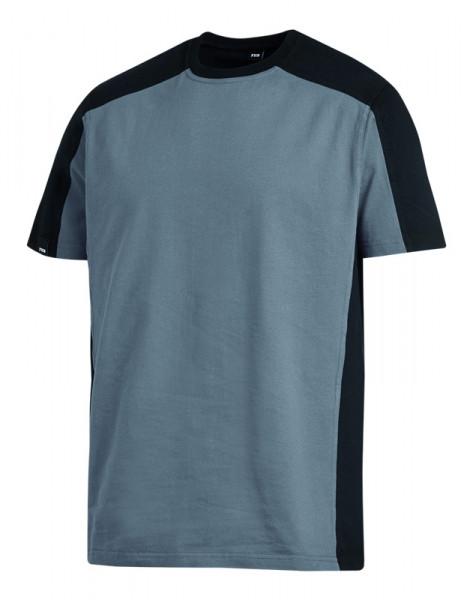 FHB MARC T-Shirt zweifarbig , grau-schwarz