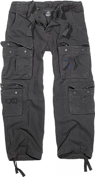 BRANDIT, Pure Vintage Trouser, black / 1003