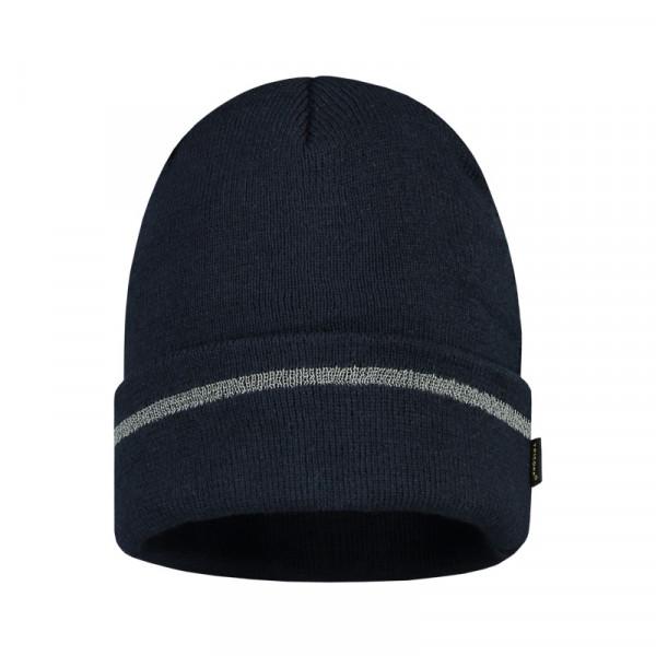 TRICORP, Mütze Reflexstreifen, Navy, 653003