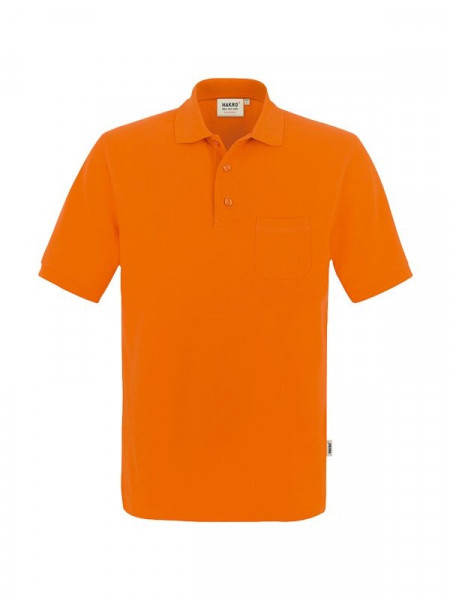 Hakro Pocket-Poloshirt Performance orange 0812-027