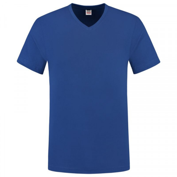 TRICORP, T-Shirt V-Ausschnitt Slim Fit, Royalblue, 101005
