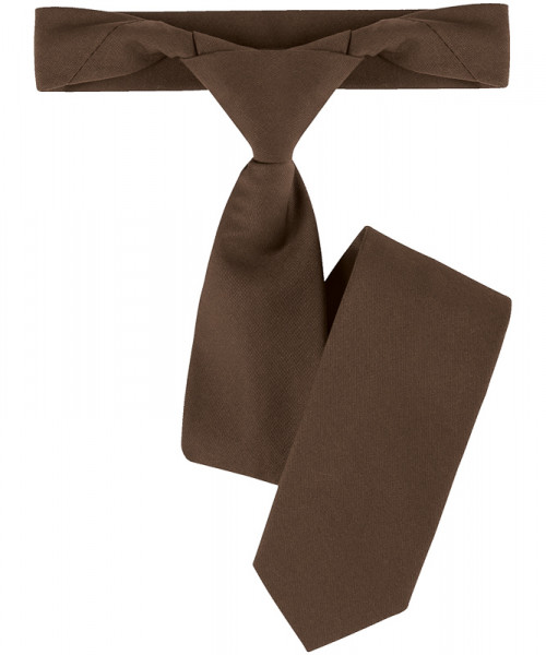 GREIFF, Ruck-Zuck Krawatte/braun Art.Nr.6921.6400