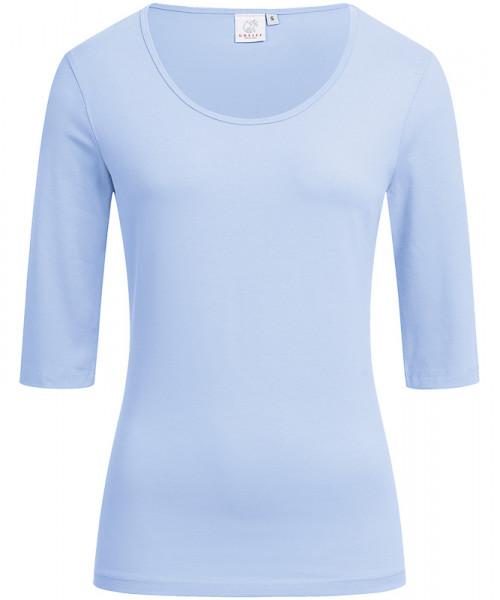 GREIFF Damen-Shirt Rundhals 1/2 bleu Blusen/Hemden/Strick 6680.1405.29 6680 1405 Shirt