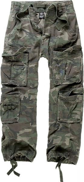 BRANDIT, Pure Vintage Trouser, woodland / 1003
