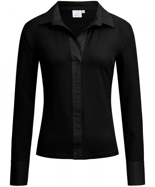 GREIFF, Damen Shirtbluse/schwarz Art.Nr.6861.1405