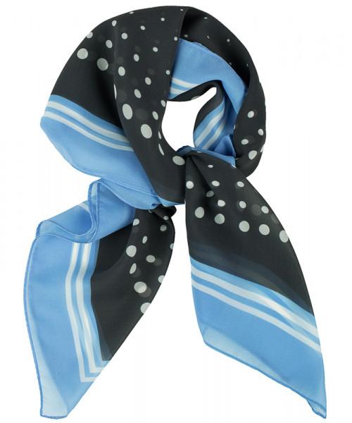 GREIFF Tuch bedruckt bleu/grau getupft Accessoires 6901.9920.129 6901 9920 Accessoires