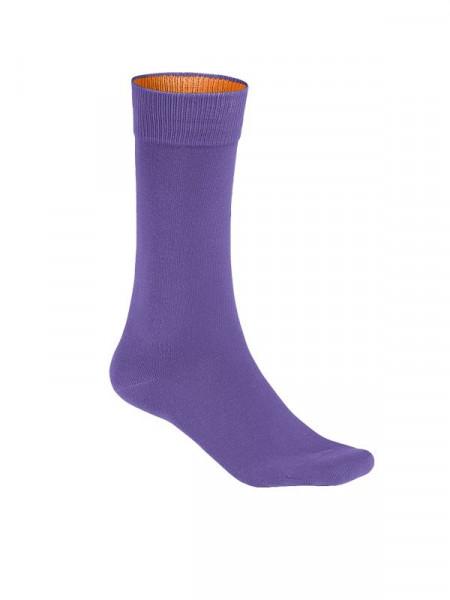 Hakro Socken Premium lavendel 0933-119