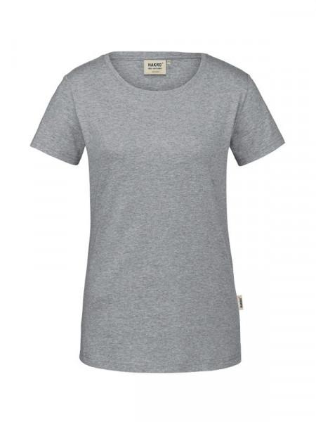 Hakro Damen-T-Shirt GOTS-Organic grau meliert 0171-015