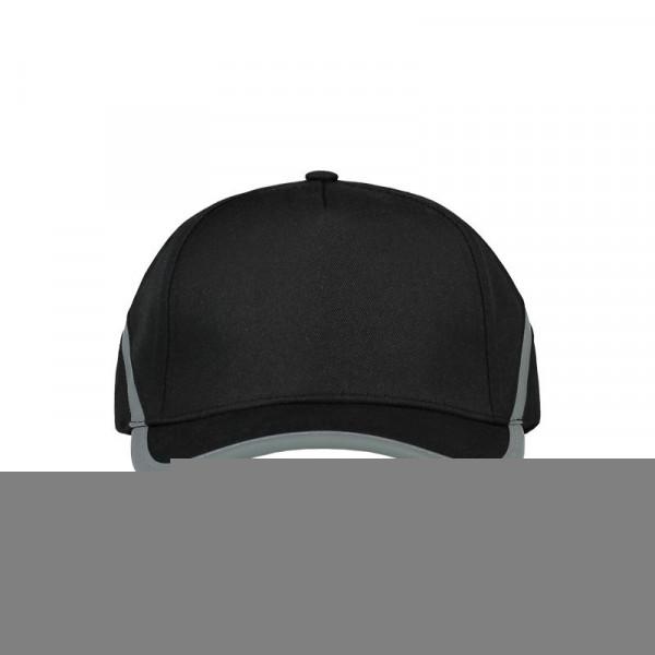 TRICORP, Cap Reflexstreifen, Black, 653002
