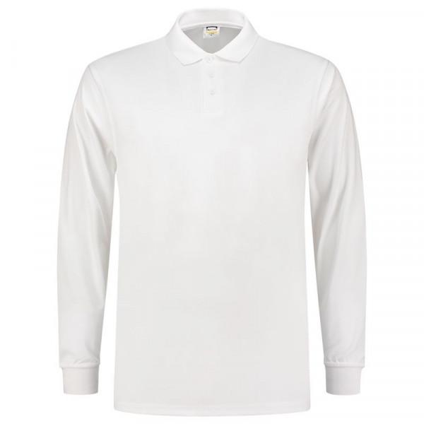 TRICORP, Poloshirt UV-Schutz Cooldry Langarm, White, 202005