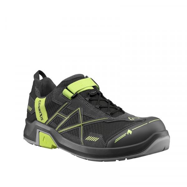 HAIX,CONNEXIS Safety T S1P low grey-citrus 630010