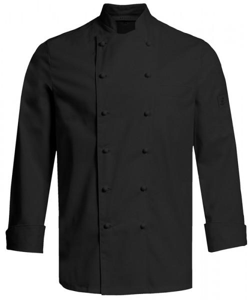GREIFF H-Kochjacke Regular Fit schwarz Gastromoda Cuisine 5566.6220.10 5566 6220 Koch- / Bäckerjacke