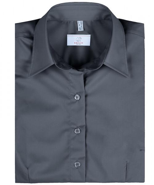 GREIFF Damen-Bluse 1/2 Regular F anthrazit Blusen/Hemden/Strick 6516.1120.11 6516 1120 Bluse