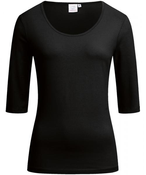 GREIFF Damen-Shirt Rundhals 1/2 schwarz Blusen/Hemden/Strick 6680.1405.10 6680 1405 Shirt