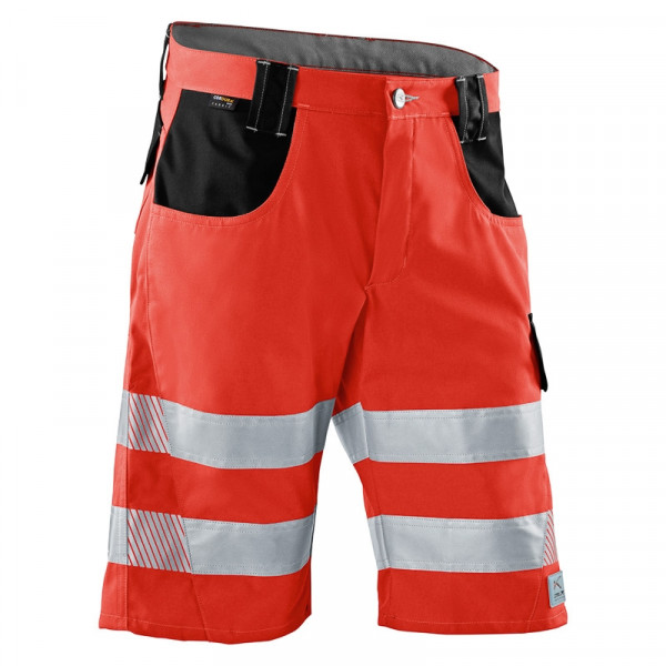KÜBLER PSA REFLECTIQ Shorts warnrot/schwarz, 23078341