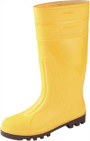 asatex AT, PVC-Sicherheitsstiefel S5, Stahlkappe, gelb SSG