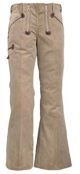 FHB PAULINE Damen-Zunfthose , beige