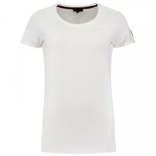 TRICORP, T-Shirt Premium Damen, Brightwhit, 104005