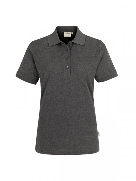 Hakro Damen-Poloshirt Performance anthrazit meliert 0216-328