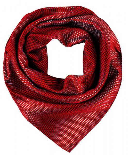 GREIFF, Tuch gewebt/rot/grau kariert Art.Nr.6901.9