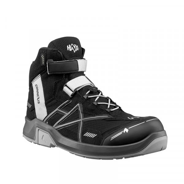 HAIX,CONNEXIS Safety GTX S3 mid black-silve 630008