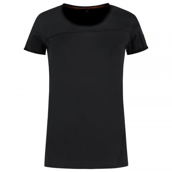 TRICORP, T-Shirt Premium Damen, Black, 104005