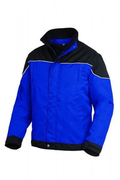FHB TOM Arbeitsjacke 2 in 1, royalblau-schwarz