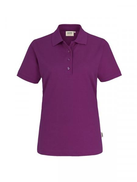 Hakro Damen-Poloshirt Performance aubergine 0216-118