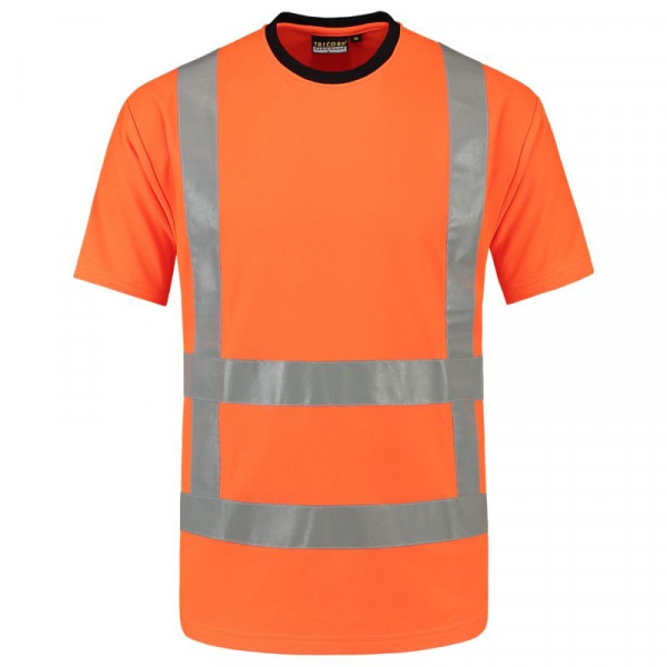 TRICORP, T-Shirt RWS EN ISO 20471, Orange, 103001