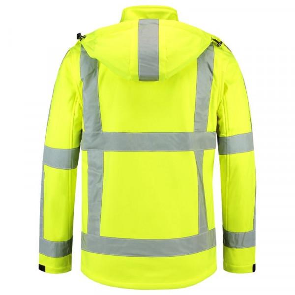 TRICORP, Softshelljacke RWS - EN ISO 20471, Yellow, 403003