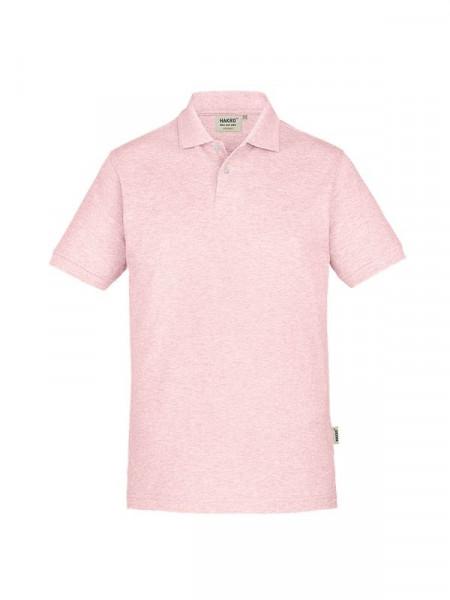 Hakro Poloshirt GOTS-Organic rosa meliert 0831-327