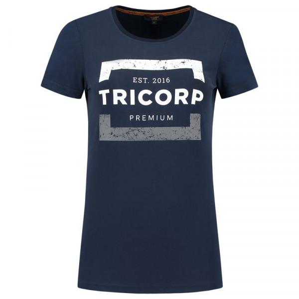 TRICORP, T-Shirt Premium Damen, Ink, 104004