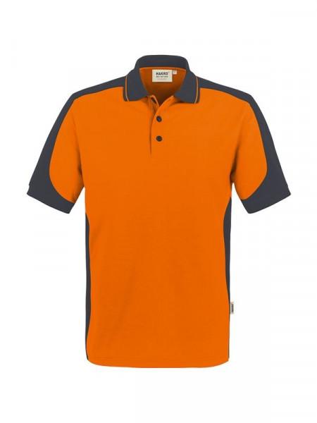 Hakro Poloshirt Contrast Performance orange/anthrazit 0839-027