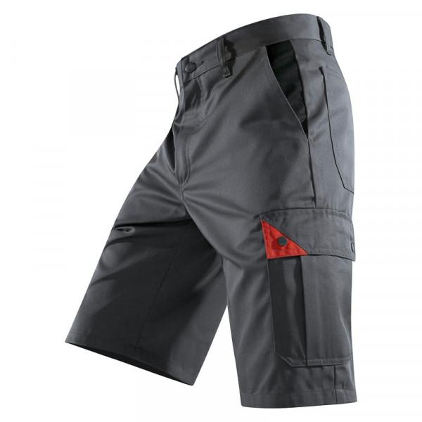 KÜBLER BRAND X Shorts anthrazit/rot, 50815803