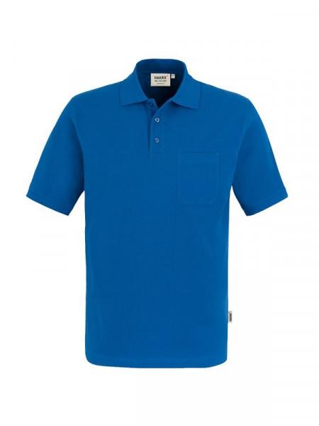 Hakro Pocket-Poloshirt Top royalblau 0802-010