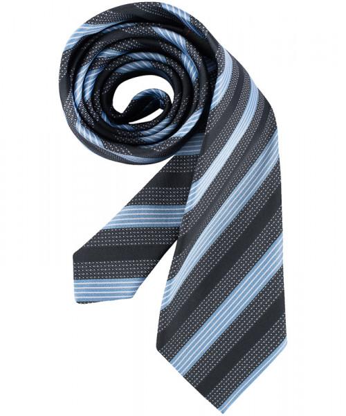GREIFF, Krawatte/bleu/grau gestreift Art.Nr.6900.9