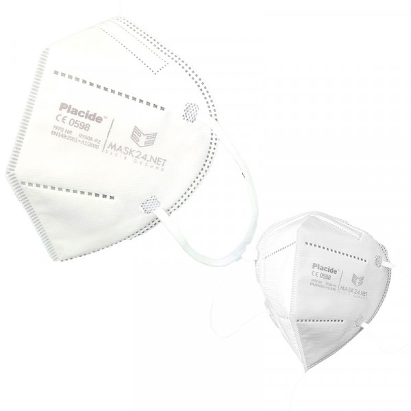 PLACIDE Atemschutzmaske FFP2 NR ohne Ventil / RY508-P2
