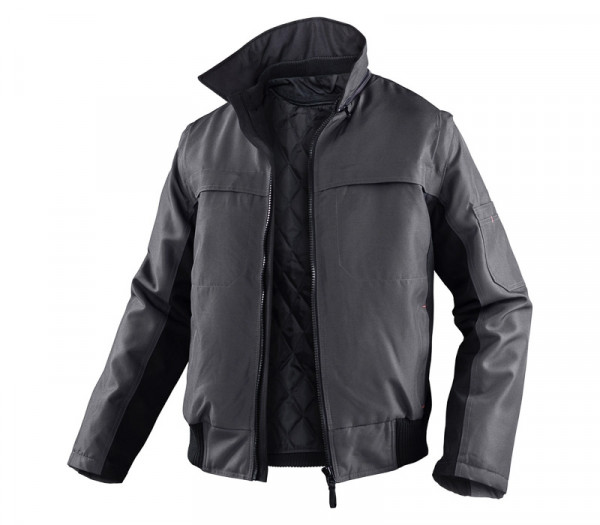 KÜBLER WEATHER Jacke anthrazit/schwarz, 11675319