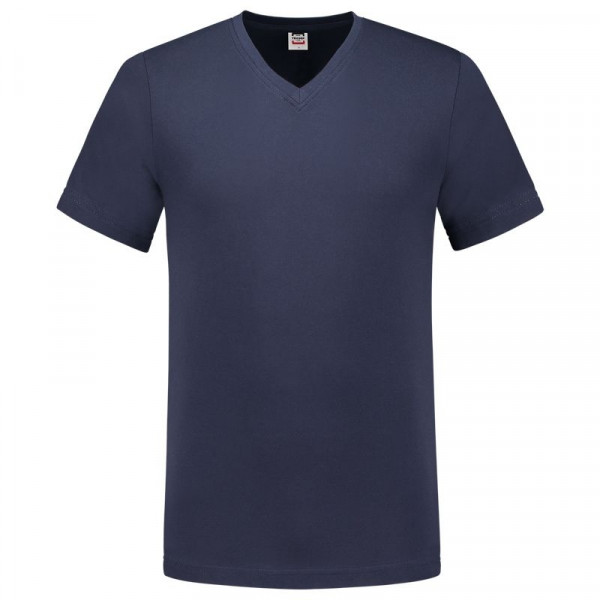 TRICORP, T-Shirt V-Ausschnitt Slim Fit, Ink, 101005