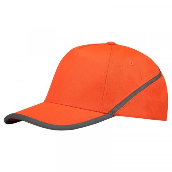 TRICORP, Cap Reflexstreifen, Orange, 653002