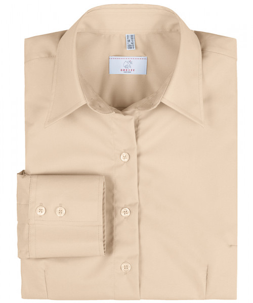 GREIFF, Damen-Bluse 1/1 Regular F/beige Art.Nr.651