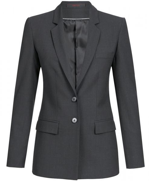 GREIFF Damen-Blazer Regular Fit anthrazit Corporate Wear 1421.666.111 1421 666 Blazer