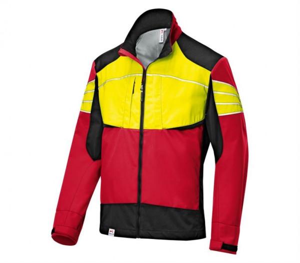 KÜBLER Ultrashell Jacke rot/warngelb 17505227